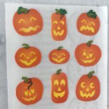 Vintage Sandylion HALLOWEEN JACK-O-LANTERNS Stickers Pumpkins