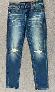 American Eagle Next Level Airflex Men's Skinny Jeans 31x32 Blue Denim