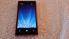 Nokia Lumia 720 - 8GB - Red (O2) Network. Smartphone.  Immaculate Condition.  W