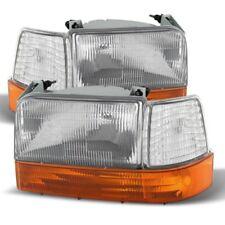 1992-1996 Ford Bronco F150 F250 Bronco Headlights Bumper Corner Signal Lights
