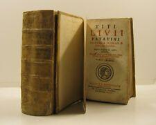 LIVIUS Titus, Titi livii patavini historiae romanae libri qui supersunt