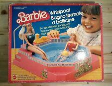 BARBIE Bagno termale a bollicine - Piscina (Mattel 1983, scatola originale)