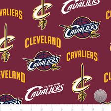 NBA Cleveland Cavaliers Fleece Fabric