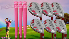 Senior Ladies iDrive Pink Golf Clubs All Hybrid (6-SW) Rescue Senior Flex Clubs