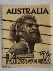 Rare used Australian Aborigine Pre-decimal 2s.6d. stamp - Sideways Wmk reversed