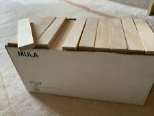 Ikea MULA ? 150 Bausteine Holz unbehandelt ? kein KAPLA ? 11,6 x 2,4 x 0,7 cm
