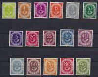 Bund 123-38 Posthornsatz postfrisch tiefst geprüft Schlegel (bt565)