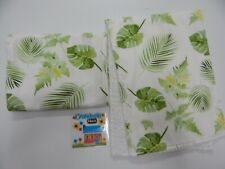 Burp Cloths Fern Leaves 2 Pack Toweling Backed GREAT GIFT IDEA!!