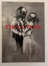Banksy Rare Blur Think Tank Postcard