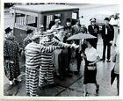 1950s Chattanooga TN Alhambra Shriner Temple Photograph Clowns Paddy Wagon 8x10