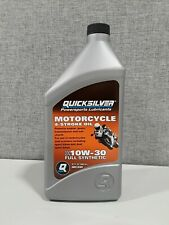 quicksilver powersports lubricants motorcycle 20w-50 SAE FULL SYNTHETIC 4 STROKE