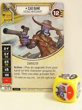 Star Wars Destiny - #018 CAD Bane + dice-amarillo-Empire at War