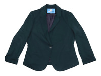 New Look Womens Size 18 Green Soft Work Office Business Jacket (Regular)