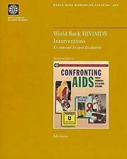 World Bank HIV/AIDS Interventions: Ex-ante and Ex-post Evaluation (World Bank Di