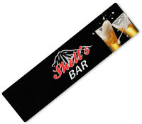 Personalised Beer Mat Any Text Bar Runner Ideal Home Pub Cafe Occasion 191