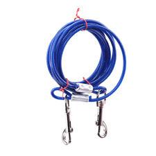 Reflective Double Dog Pet Lead Leash Splitter Coupler Clip For Collar Harness XS