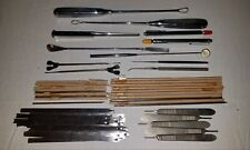 Vintage Lot 52 Medical Surgical Orthopedic Stainless Steal Instruments Tools
