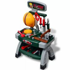 Playroom Toy Workbench With Tools Yellow Hard Hat 3 Years and up Kids Pretend