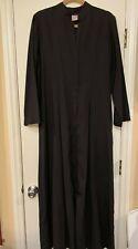 Clergy Robe Women's Black size medium Pre-owned