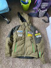 Awesome US SKI TEAM Mens Large M Spyder DOWN Jacket