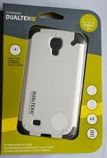 WHITE PureGear Dualtek Extreme Impact Protector Cover Case -Samsung Galaxy S4