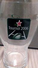 ★ HEINEKEN ★ Verre 25cl Série RUGBY H - CUP 2006