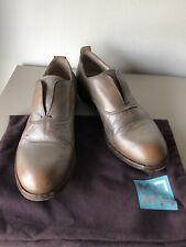 91e926ac0fa1ac MoMA Halbschuhe Slip On Cognac-Metallic Gr. 36