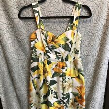 Marled Reunited Floral Lemon Dress XS NWT