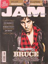 JAM 175 magazine BRUCE SPRINGSTEEN ERIC CLAPTON  DYLAN SYD BARRETT DAVID BOWIE
