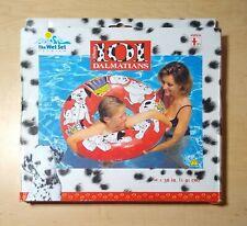 Vintage Wet Set Disney 101 Dalmatians Deluxe Tube Inflatable Pool Float New NOS