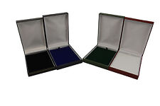 Jewellers Luxury Faux Leather Necklace Box Jewellery Display Storage Gift Box