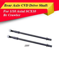 2PCS Hard Steel Front Axle Drive Shaft Dogbone for 1/10 Axial SCX10 Rc Crawler
