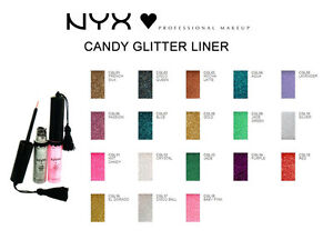"""NYX Candy Glitter Liner Eye Liner,""""CHOOSE YOUR SHADE!!!"""""""