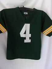 Green Bay Packers Brett Favre # 4 Adidas Home Jersey Mdm Free Shipping