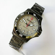 NEW $325 GENTS 43MM WENGER 641.107 GRAY SEAFORCE OUTSIDE MAGAZINE WATCH OF YEAR
