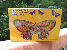 Whimsical Butterfly 1000 Piece Jigsaw Puzzle By F.X. Schmid~New & Factory Sealed