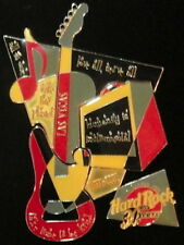 Hard Rock Cafe LAS VEGAS 2001 RETRO Jigsaw Puzzle 5 PIN Set - HRC 30th #4616