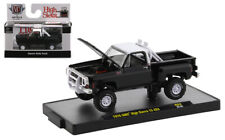 M2 MACHINES AUTO-TRUCKS BLACK 1976 GMC HIGH SIERRA 15 4x4 SQUAREBODY *PRESALE*