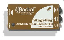 Radial SB-4 Piezo StageBug active DI for piezo pickups , BEST OFFER R003