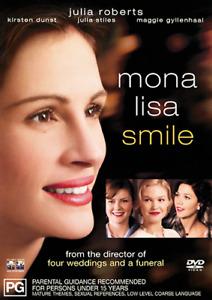 Julia Roberts Kirsten Dunst Julia Stiles MONA LISA SMILE DVD (NEW & SEALED)