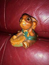 "Vintage Pendelfin Bunny Figurine - ""Bongo"" With Drum Rabbit Easter"