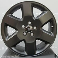"GENUINE LAND ROVER DISCOVERY 4/3 HSE 19""INCH SATIN BLACK ALLOY WHEELS X4, RANGE"