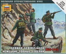 Zvezda - German gebirgsjager 1939-1943 - 1:72