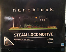 NANOBLOCK Steam Train Locomotive Nano Block Micro-Sized Building Blocks NBM-001