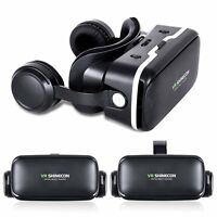 3D Glasses Google Cardboard VR Shinecon for 4.5-6.0inch Smartphone Iphone