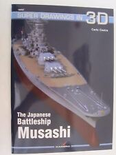 Kagero Book: The Japanese Battleship Musashi (Super Drawings in 3D)