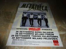 METALLICA - POSTER MANIFESTO TOUR 57 x 84