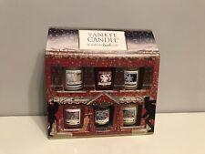 Yankee Candle Christmas House Conjunto de regalo, 12 Velas Perfumadas votiva Gran Regalo