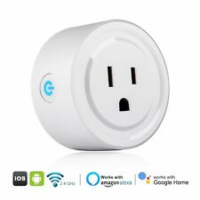 WiFi Mini Outlet Smart Plug Switch Works With Echo Alexa Remote Control Wireless