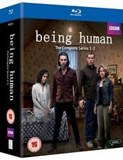 BEING HUMAN - COMPLETE SEASONS  1 2 & 3 BOXSET *BRAND NEW BLU-RAY
